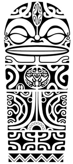 Polynesian Tattoo Designs - #maori #tattoo #tattoos