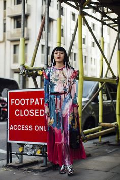 London Fashion Week Street Style Fall 2018 Day 1 - The Impression
