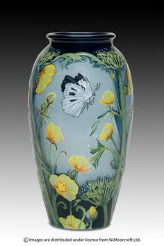 Moorcroft - Pottery. 2013  BUTTERFIELD. Coming out probably in celebration of our wedding. Probably.