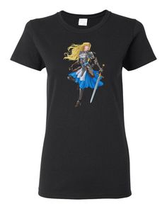 Alice And Her Vorpal Blade Heavy Cotton Women's T-Shirt