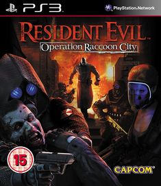 e94a6020f1f Resident Evil Operation Raccoon City Horror Video Games