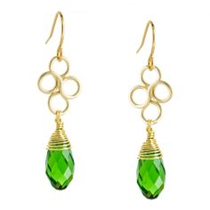 Clover Earrings | Fusion Beads Inspiration Gallery