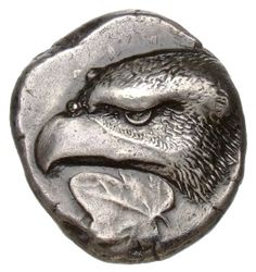 Statere - argento - Elis, Grecia a.) - testa di aquila a sin. Berlin Museum, Ancient Greek Art, Greek Gods And Goddesses, Coin Art, Gold And Silver Coins, Antique Coins, World Coins, Indigenous Art, Rare Coins