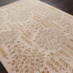 Jaipur Poeme Rochefort Hand Tufted Wool Rug @Sarah Nasafi Grayce - for moms room?