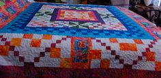 SUMMER AT THE CAPE QUILT - The SUMMER AT THE CAPE quilt is machine pieced…