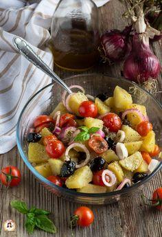 Veg Recipes, Vegetarian Recipes, Cooking Recipes, Healthy Recipes, Sicilian Recipes, Best Italian Recipes, Antipasto, Comfort Food, Dinner Salads