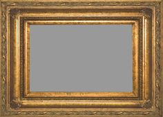 """Antique Gold 5.75"""" Wide Fancy Picture Frame."""