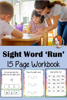 Sight Word 'See' 15 Page Workbook Reading Resources, Reading Activities, Teacher Resources, School Resources, Preschool Activities, Teaching Reading, Reading Comprehension, Guided Reading, Sight Word Coloring