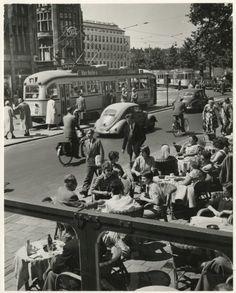 Netherlands. The Hague, 1958 // Jacques Meijer