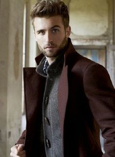 Great layering and I love the rich color of the coat. I want it!