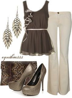 """A Bit of Glitz"" by cynthia335 on Polyvore"