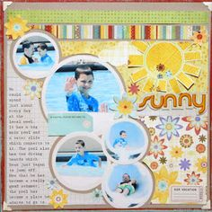 Ideas for Scrapbookers: Creating New Looks While Scraplifting Yourself