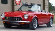 Fiat 124 Sport Spider, Fiat 124 Spider, Fiat Cinquecento, Fiat Abarth, Fiat Sport, Sport Cars, Classic Sports Cars, Classic Cars, Fiat Cars