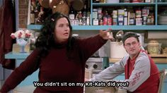 Pin for Later: 55 Times You Wanted to Be Part of the Friends Crew When Young Monica Gets Superworried About Her Kit Kats