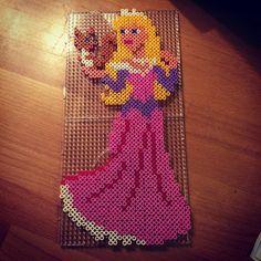 Disney Aurora hama perler beads by mie2205