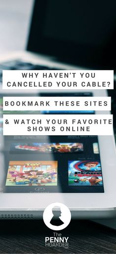 Do high cable bills have you ready to cut the cord? Here's how to watch TV without cable, so you can save money and still watch all your favorite shows. - The Penny Hoarder http://www.thepennyhoarder.com/cut-the-cord-save-600-a-year-cable/