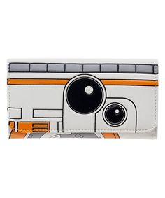 Star Wars  The Force Awakens BB-8 Flap Wallet Card Case 8aff939e3b9a