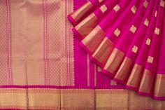Kanakavalli Handwoven Kanjivaram Silk Sari 1017190 - Parisera