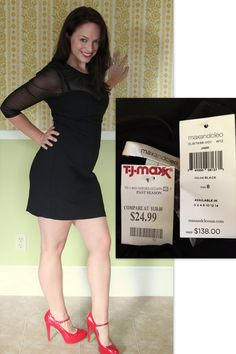 Carie scored this maxandcleo dress for $24.99, compare at $138! #maxxinista #dress #fashion