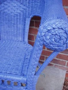 4 Magical Clever Tips: Wicker Screen Porch Designs wicker rattan rugs. Painting Wicker Furniture, Cane Furniture, Painted Furniture, Porch Furniture, Rattan Furniture, Furniture Outlet, Discount Furniture, Luxury Furniture, Garden Furniture