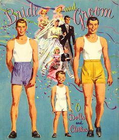 Bride and Groom 1949 #155 Merrill m - edprint2000paperdolls - Picasa Web Albums