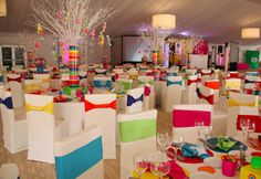 Candy is a very popular theme for a Bar/Bat Mitzvah. Check out Danielle's Candy Bar with bright, bold colors. I love this Bat Mitzvah celebration by Sherri Gertz and Associates in Chicago! Candy Themed Party, Candy Land Theme, Bar Mitzvah Themes, Bat Mitzvah Party, Rainbow Wedding, Rainbow Theme, Party Fiesta, Sweet Sixteen Parties, Decoration Table