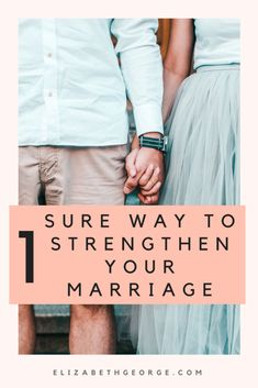 """""""How do I strengthen my marriage?"""" If this question is on your mind, there is an easy answer that will do wonders for your marriage."""