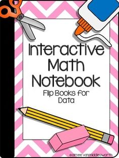 This Interactive Math Notebook contains seven foldables explaining types of data. Each of the foldables can be used to introduce the concept and then students can refer back to each topic for review throughout the school year.Included in this download:*Photos and instructions on how to assemble the foldables*Math Notebook Cover page*Math Notebook Table of Contents*Topic Cover page*Foldables for data vocabulary, line plots, pictographs, and bar graphs*Please download the preview to see…