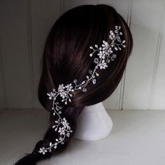 Jo Barnes Ivy Hair Vine by JoBarnesVintage on Etsy