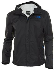 The North Face Venture Rain Jacket Mens (Medium, TNF Black/Monster Blue) The North Face ++ You can get best price to buy this with big discount just for you.++