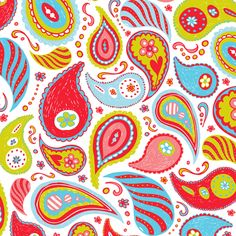 Power Paisley fabric by heatherdutton on Spoonflower - custom fabric