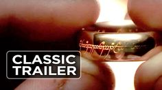The Lord of the Ring Trilogy Official Supertrailer - Elijah . The Lord, Lord Of The Rings, Classic Trailers, Movie Trailers, 100 Days Movie, Super Trailer, Elijah Wood, 100th Day, Middle Earth