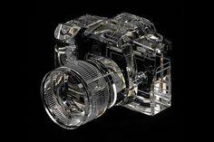 Canon 7D, réplica de cristal