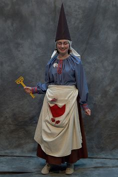 Girl woman lady Gnome, Norwescon 30 by djwudi, via Flickr