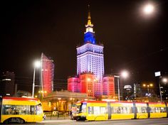 Palace of Culture and Science in Warsaw, Poland ~Newscom