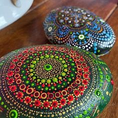 Painted Stone Dandelion Pebbles with Nature Designs floral   Etsy Feather Painting, Pebble Painting, Stone Painting, Limassol, Zen Meditation, Hand Painted Rocks, Painted Stones, Nature Design, Paint Pens For Rocks