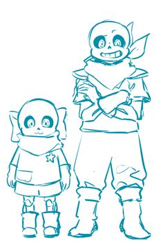 Kid!/UnderSwap! Sans / UnderSwap! Sans | Artist Mao2kon