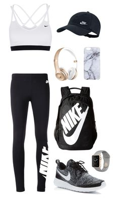 """Off to the Gym"" by mmanning2202 on Polyvore featuring NIKE"