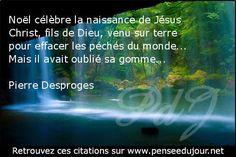 Noël célèbre la naissance de Jésus Christ, fils de Dieu, venu sur terre pour effacer les péchés du monde...Mais il avait oublié sa gomme...