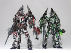 GUNDAM GUY: HGUC 1/144 Unicorn Gundam Unit 3 Phenex type RC [Destroy Mode] Ver.GFT Limited Silver Coating + Blu-ray Gundam Reconguista in G FROM THE PAST TO THE FUTURE Set - Review by ろあの~く雑記帳♪♪