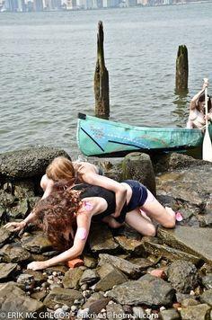 Mermaid distressed