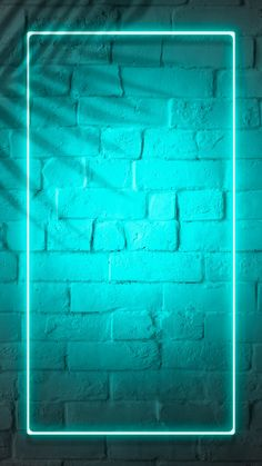 Download premium psd / image of Tropical green neon lights phone screen wallpaper by Jubjang about Neon background, cool, phone neon frame, Brick wall neon, and frame grunge 1223356