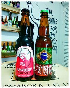 News2: RASPBERRY MILK STOUT,  4'8° de Cervesa Guineu; vuelven las IPA's con más samba: IPANEMA, 130 IBU, 6'5° de @CervesasTroAles