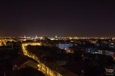 Oradea noaptea privita de sus | Oradea in imagini