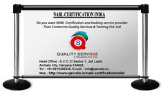 Do you need NABL Certifications India and looking for service provider? then contact to Quality Services & Training Pvt. Ltd. For more information, kindly contact us: Phone: 91-9215300338 Email id: info@qsindia.in  Website: http://www.qsindia.in/nabl-certificationindia      S.C.O. 37, sector-1, jail land, Ambala city – 134 003 Haryana Twitter: https://twitter.com/qualityservic11 Facebook: https://www.facebook.com/isocompanyindia?ref=hl