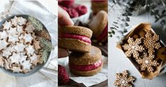 10 úžasných receptů na zdravé cukroví, po kterých nepřiberete Christmas Sweets, Christmas Cookies, Cooking Recipes, Healthy Recipes, Camembert Cheese, Cake Recipes, Food And Drink, Paleo, Bread