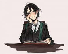 Harry Potter- humanized/ anime version/ gijinka