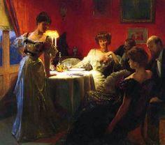 ~ Julius LeBlanc Stewart ~ American artist, 1855-1919