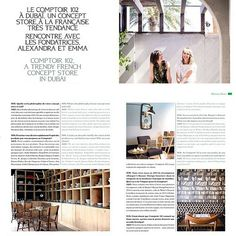 Madame Magazine March 2016 Issue A French Trendy Concept Store in Dubai Dubai, Magazine, Stores, Photo Wall, March, Concept, French, Frame, Home Decor