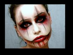 Sexy Creepy Clown Halloween Tutorial